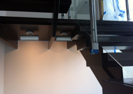 modern stairs - lighting