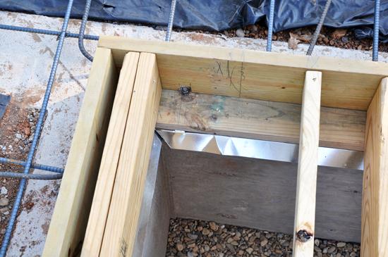 termite shielding