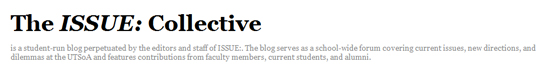 The Issue: Collective