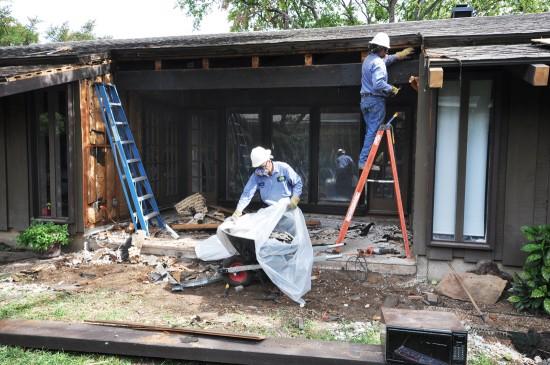 Exterior View Lead Demolition
