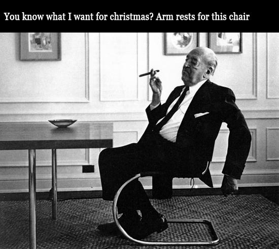 Architect Ludwig Mies van der Rohe