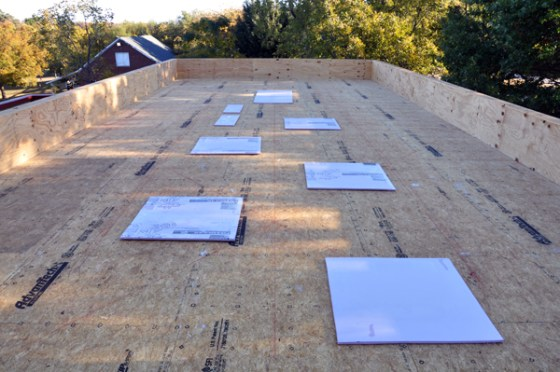 Cottonwood Modern roof deck equipment layout