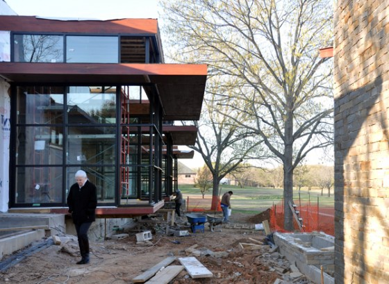 Cottonwood Modern rear elevation 01