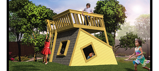 Alex Greenhut playhouse
