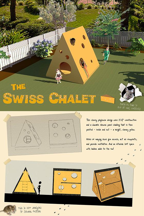 playhouse by Katie Friesen