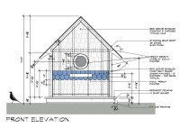 Birdhouse drawings Front Elevation design by Dallas ...