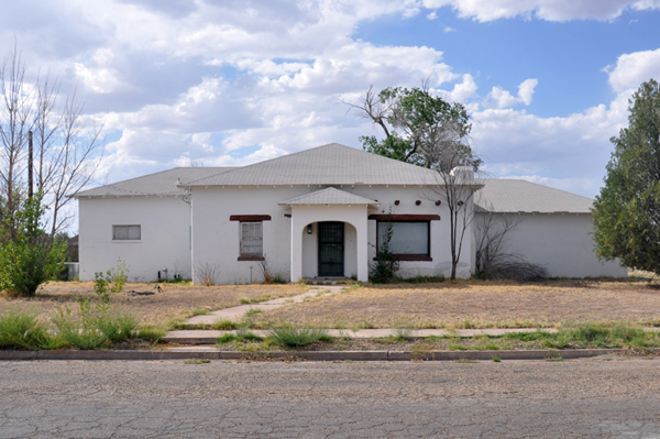 Houses in Marfa, Texas - photo by Dallas Architect Bob Borson