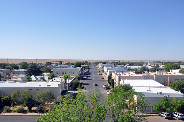 Marfa Texas Main Street - photo by Bob Borson