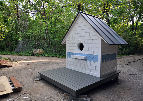 The Bird Playhouse - almost finished