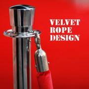 """""""Velvet Rope"""" Design"""