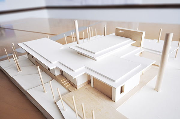 Architectural Model - South West Elevation