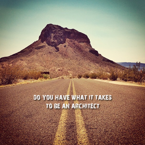 Do You Have What it Takes to be an Architect - From Life of an Architect