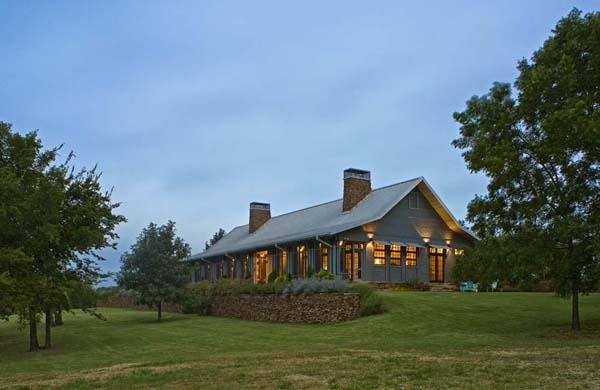 Lyday Farms Exterior by Michael Malone Architects