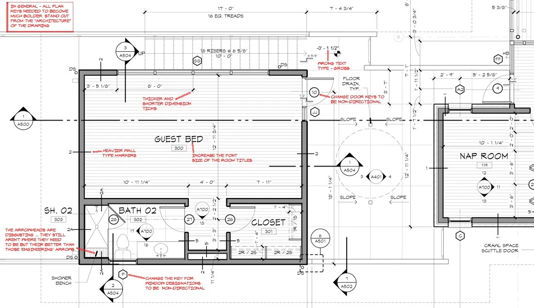 KHouse Modern Graphic Standards Floor Plan