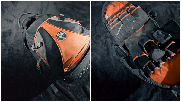 Klein Tradesman Pro Backpack - an Electrician's bag