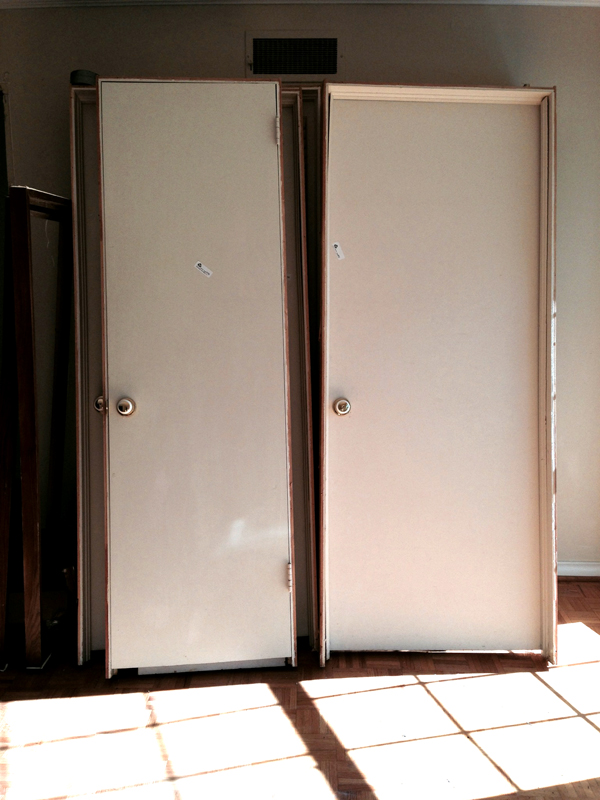 salvaging doors for reuse