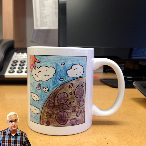 Architect Bob Borson's coffee mug
