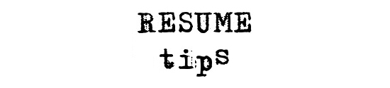Resume tips for Architects