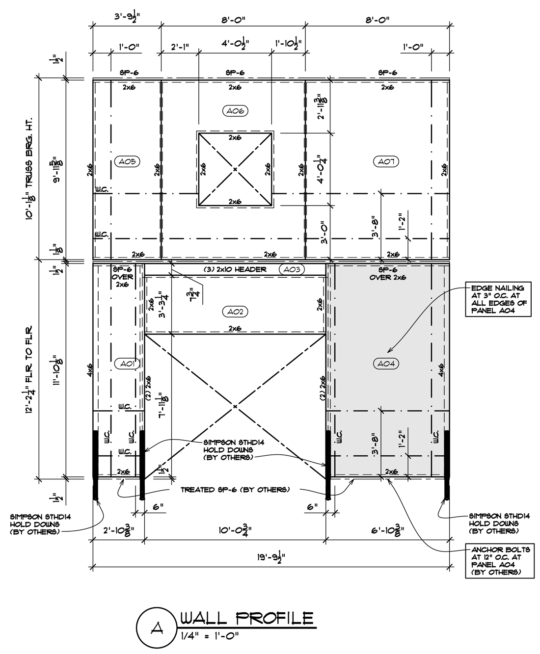 CHouse Modern SIP panel shop drawings 02