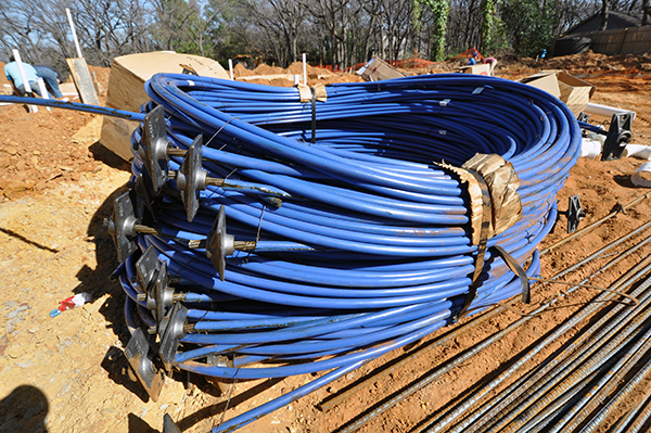 CHouse Modern post tension slab cables