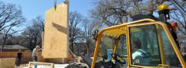 Installing structurally insulated panels
