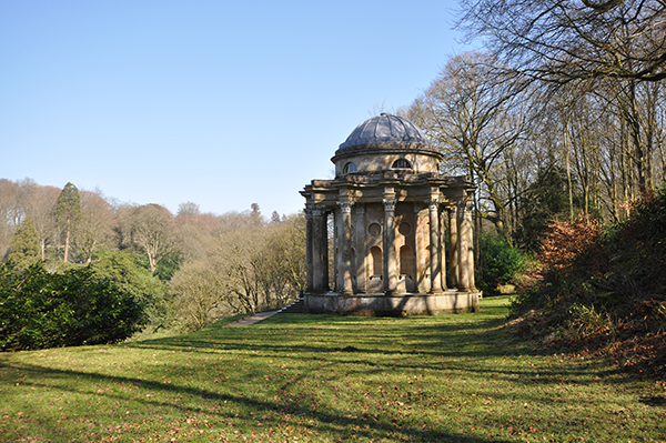 Temple of Apollo at Stourhead Castle