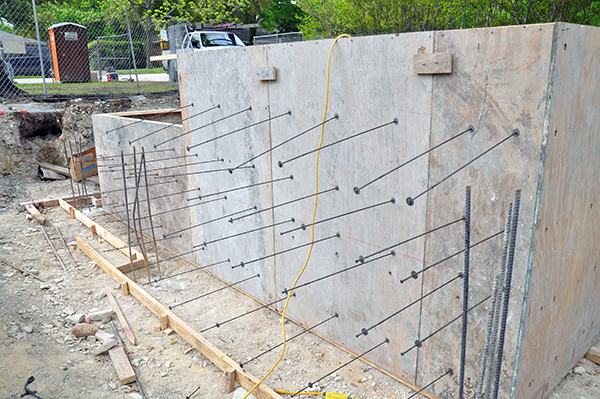 concrete formwork loose ties