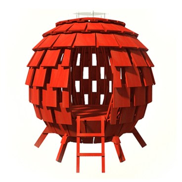 2014 Life of an Architect Playhouse Winner - Levente Skulteti: The Redball