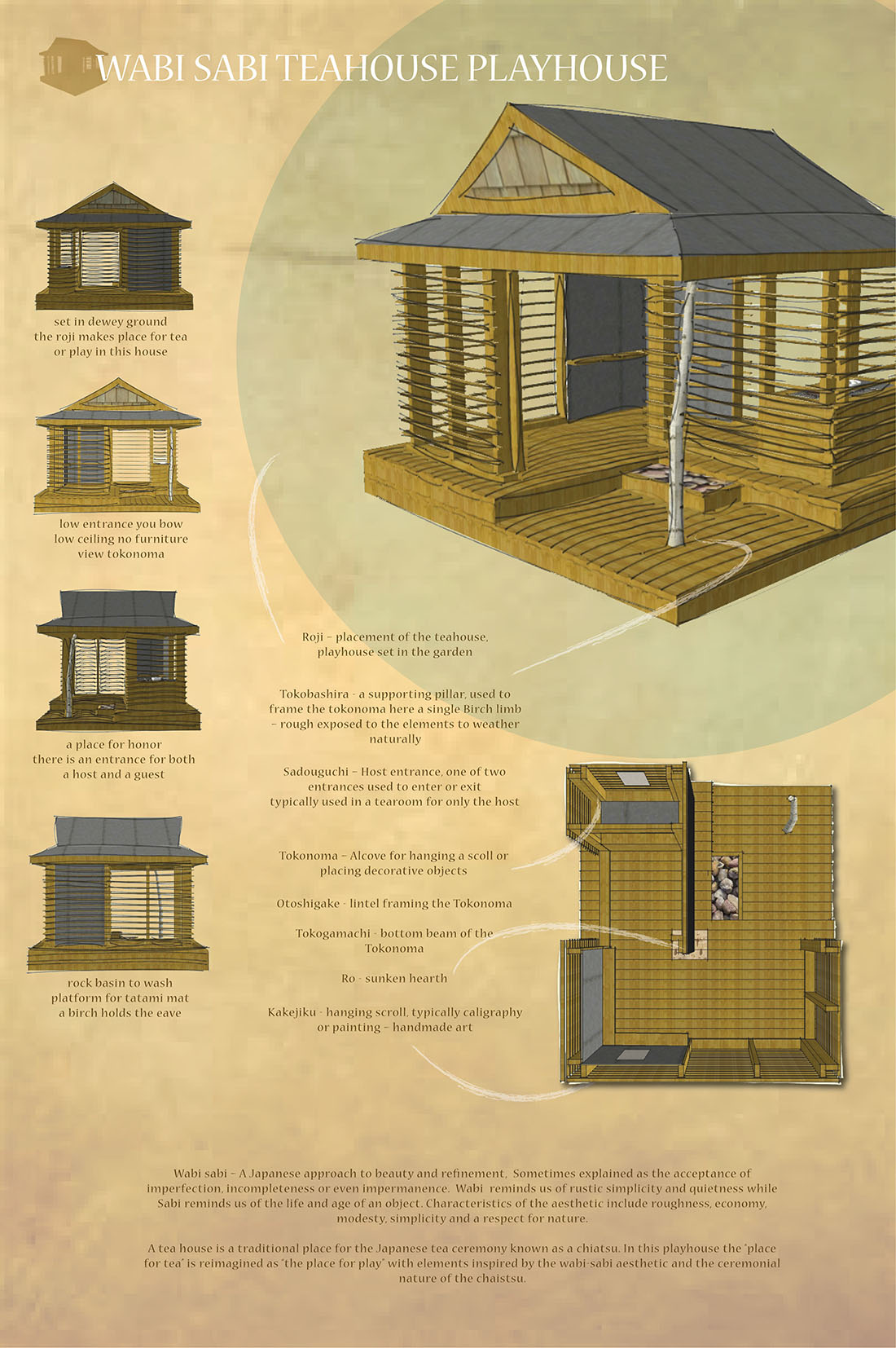Architecture Drawing Competition 2014 the finalists - 2014 life of an architect playhouse design