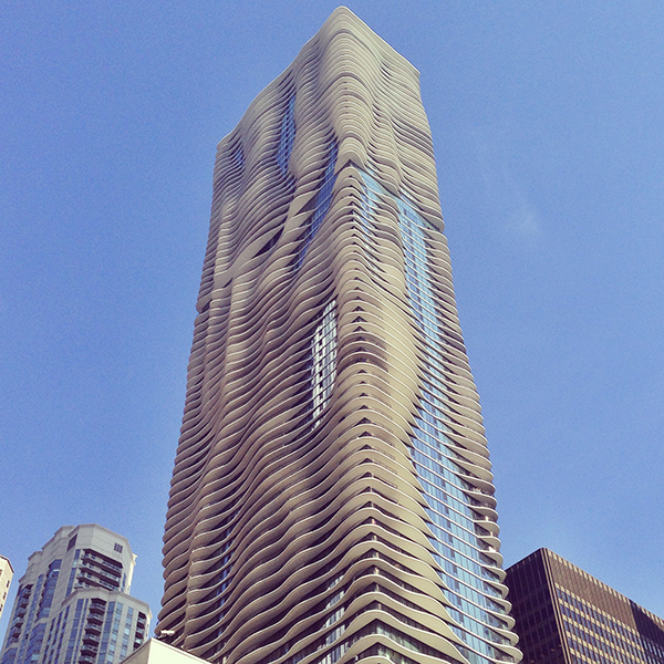 Aqua Tower by Studio Gang
