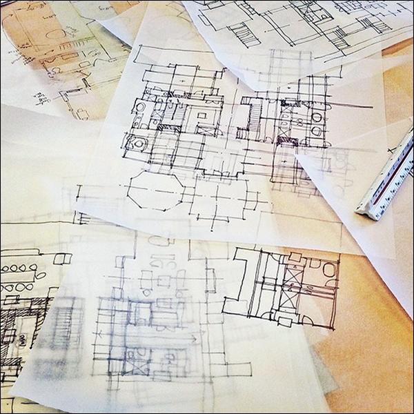 ArchiSketch Bob Borson floor plan sketches