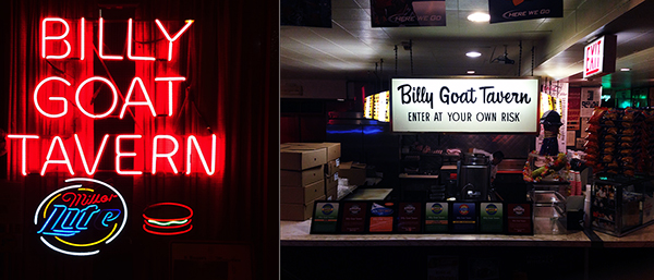 Billy Goat Tavern montage