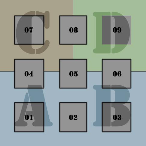 The Cube House - tartan grid