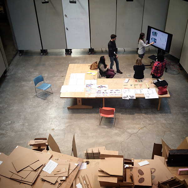 University of Maryland School of Architecture open studio