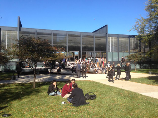 Illinois Institute of Technology: MCHAP Lunch Break on SR Crown Hall Steps