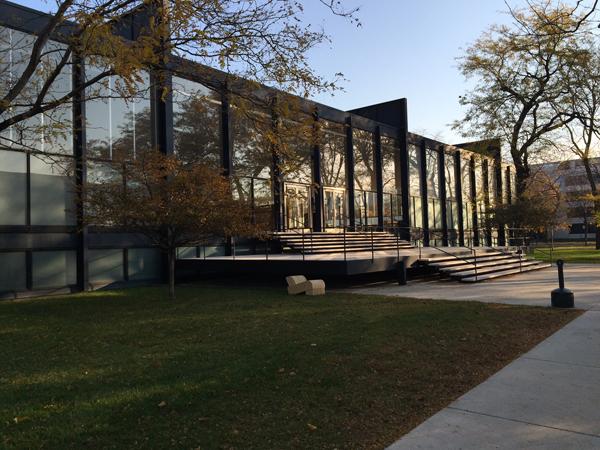 Illinois Institute of Technology: SR Crown Hall sunrise