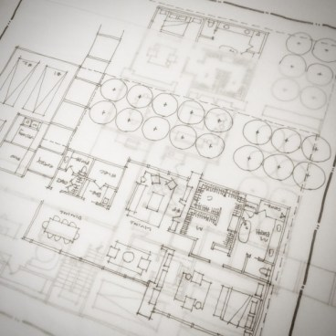Schematic Design - hand sketching out a design