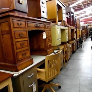 Stacked Desks