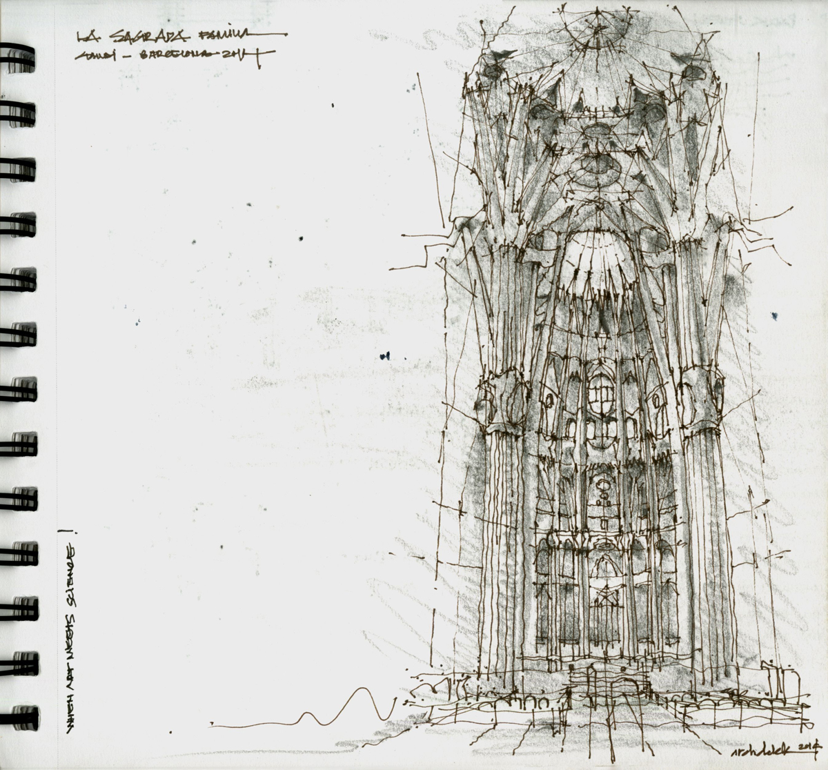 Khoa Vu - Best in Category Student Travel Sketch