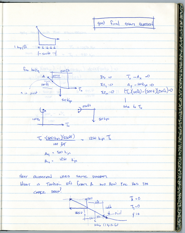 Architecture and Math - structural notes