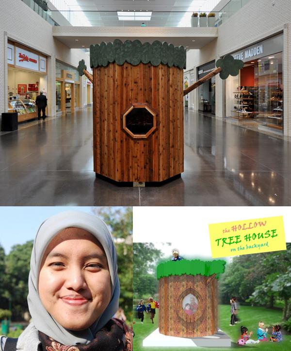 The Backyard Treehouse by Kania P. Anggriany