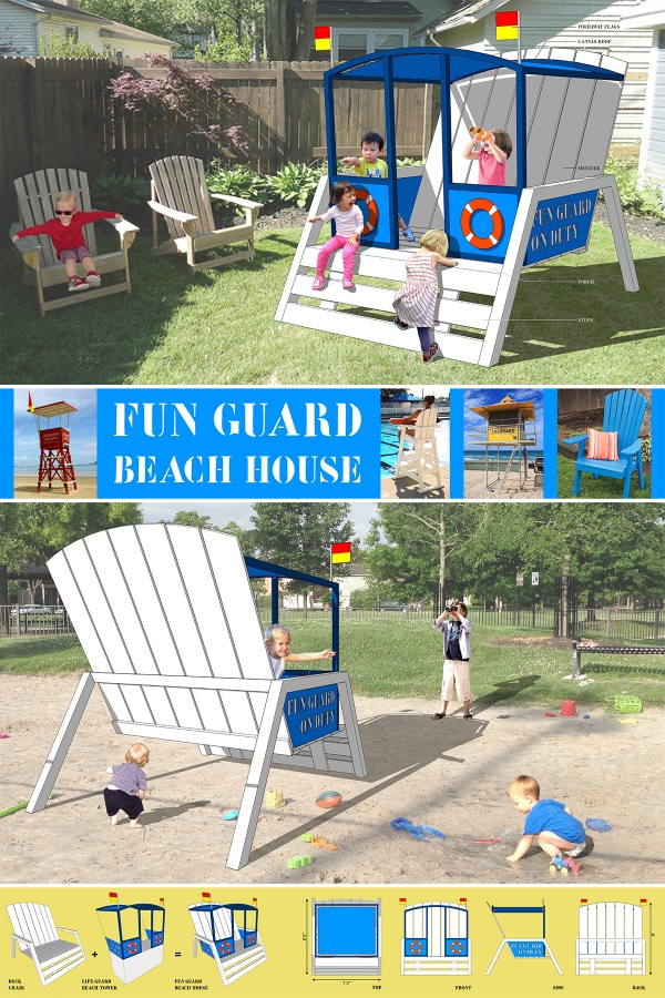 Susann Stein Fun Guard Beach House