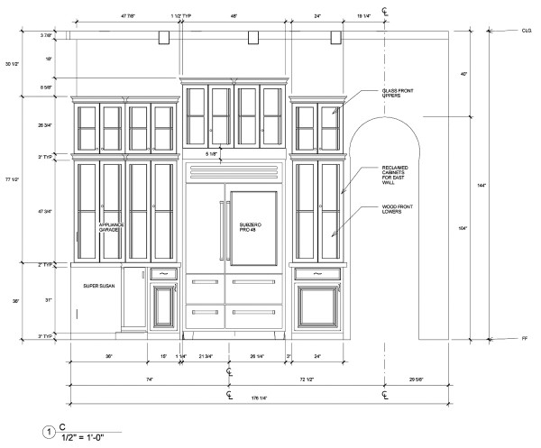 Jackie Vargas - SZW Kitchen Design Contest - Interior Elevation C