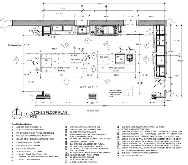 Jackie Vargas - SZW Kitchen Design Contest - Kitchen Plan