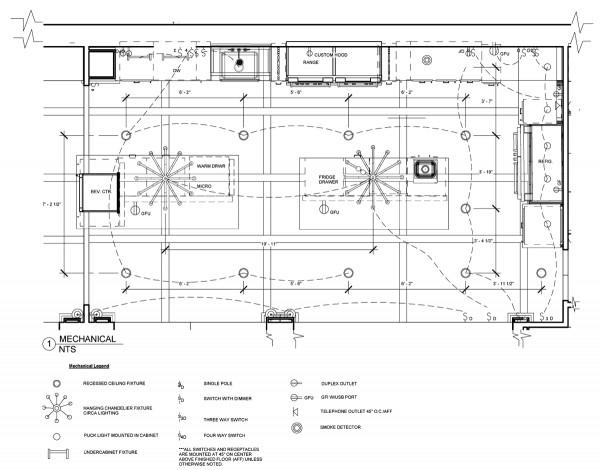 Jackie Vargas - SZW Kitchen Design Contest - Mechanical Plan
