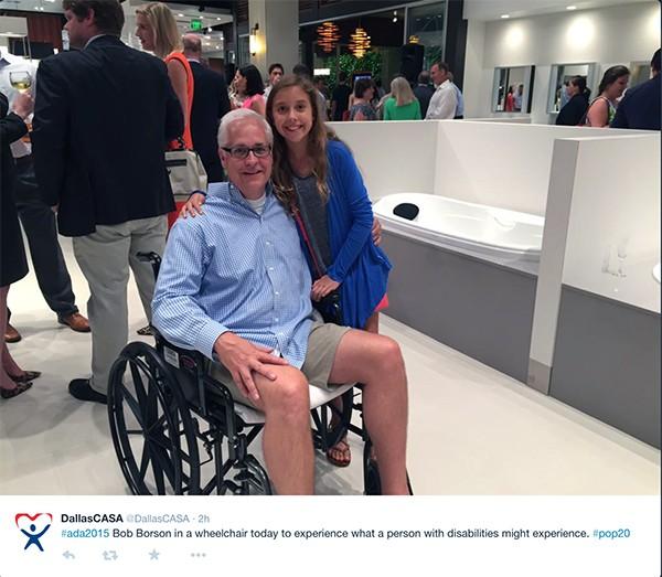 Kate and Bob Borson at Dallas CASA reception