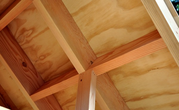 Movie Theater Playhouse by Bob Borson rafter detail