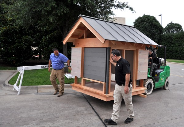 Movie Theater Playhouse by Bob Borson unloading