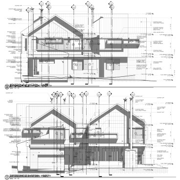 Cabin Elevations