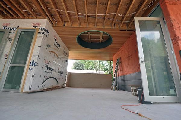 Oculus - concrete flatwork